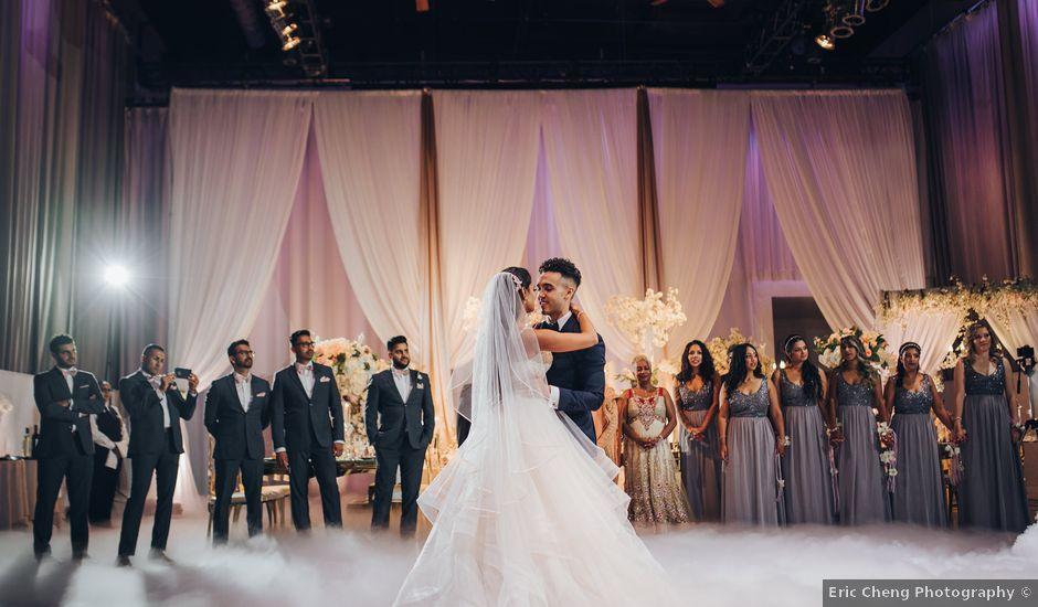 Tushar and Nadia's wedding in Toronto, Ontario