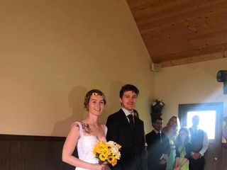 The wedding of Chantal and Keenan 1