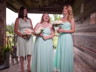 The wedding of Chantal and Keenan 2
