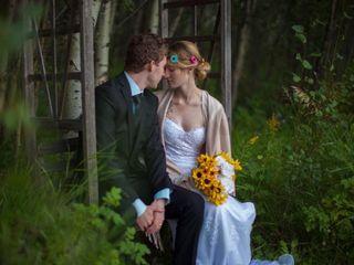 The wedding of Chantal and Keenan