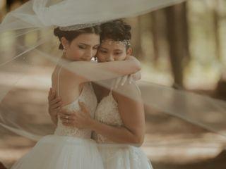 The wedding of Joyce and Bernic