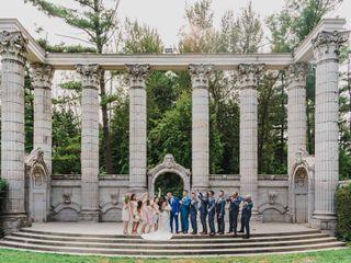 The wedding of Mike and Joshlene