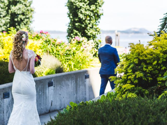 Hamed and Jessica's wedding in Victoria, British Columbia 24