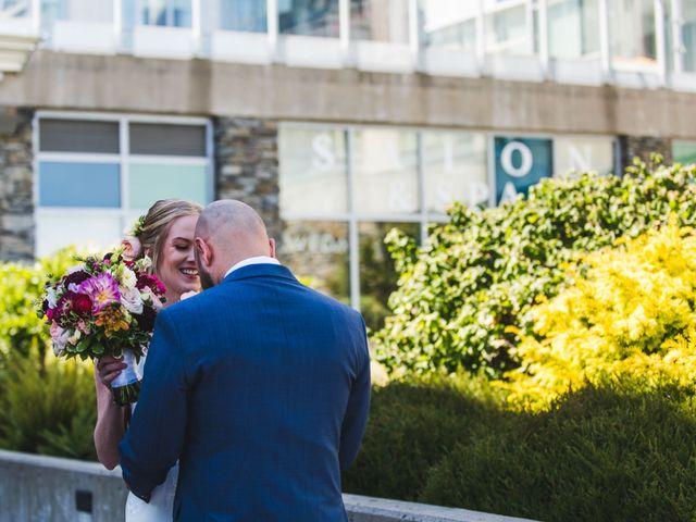 Hamed and Jessica's wedding in Victoria, British Columbia 25