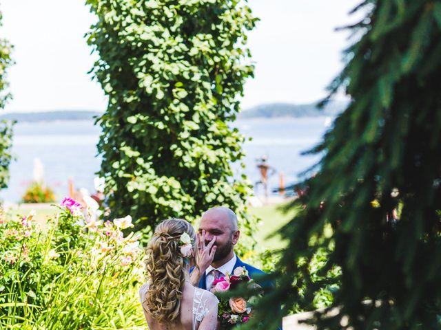 Hamed and Jessica's wedding in Victoria, British Columbia 27