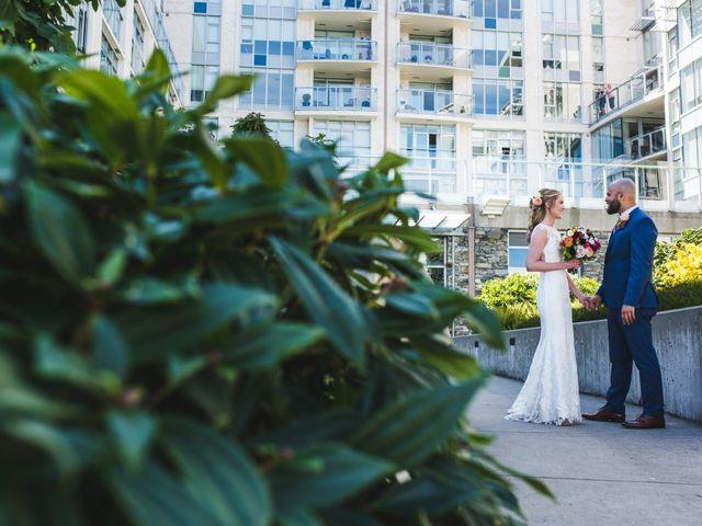 Hamed and Jessica's wedding in Victoria, British Columbia 28
