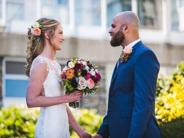 Hamed and Jessica's wedding in Victoria, British Columbia 29