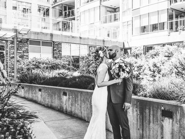 Hamed and Jessica's wedding in Victoria, British Columbia 30