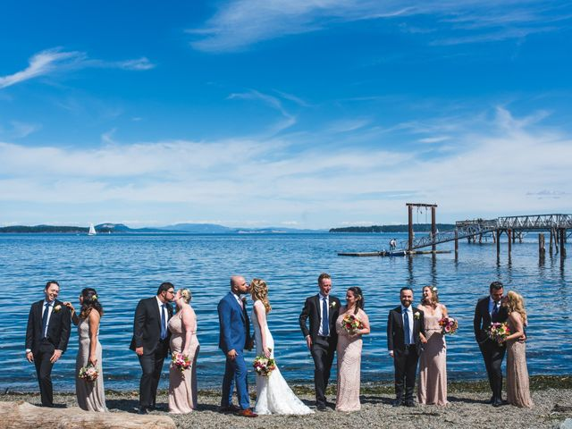 Hamed and Jessica's wedding in Victoria, British Columbia 35