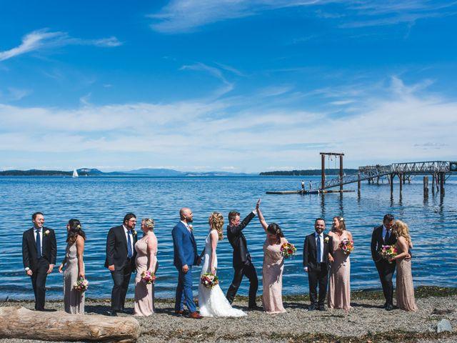 Hamed and Jessica's wedding in Victoria, British Columbia 36