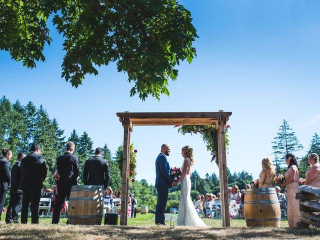 Hamed and Jessica's wedding in Victoria, British Columbia 45