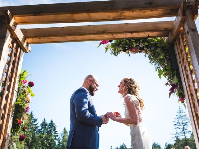 Hamed and Jessica's wedding in Victoria, British Columbia 46
