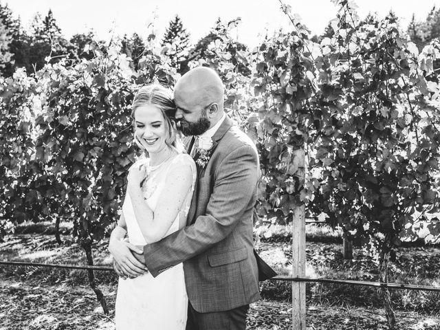 Hamed and Jessica's wedding in Victoria, British Columbia 54