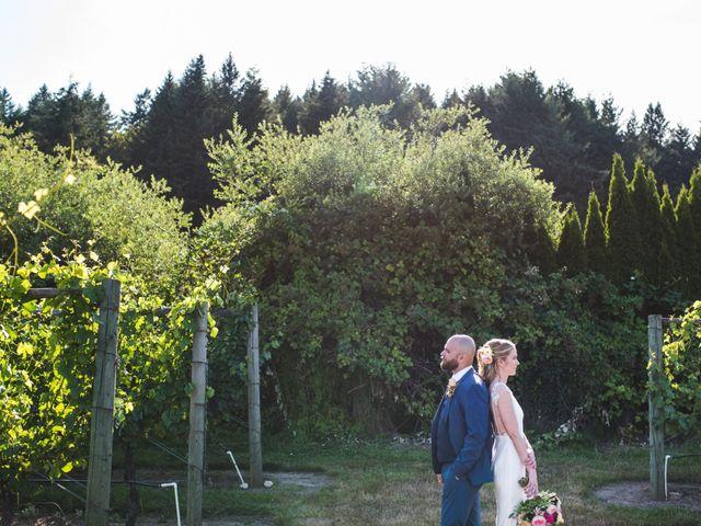 Hamed and Jessica's wedding in Victoria, British Columbia 56