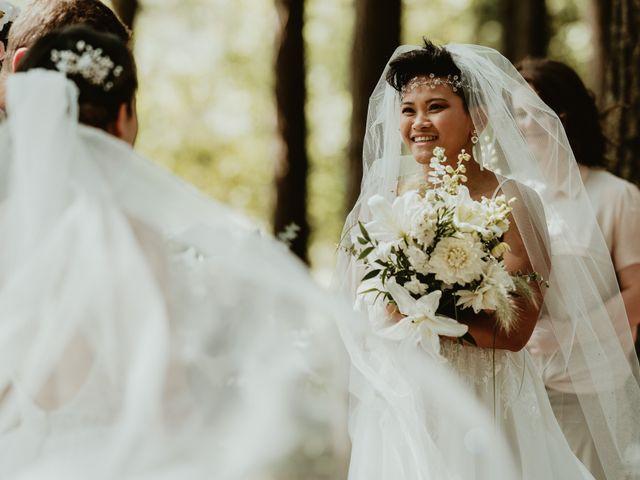 Bernic and Joyce's wedding in Lillooet, British Columbia 8
