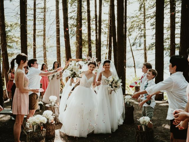 Bernic and Joyce's wedding in Lillooet, British Columbia 9