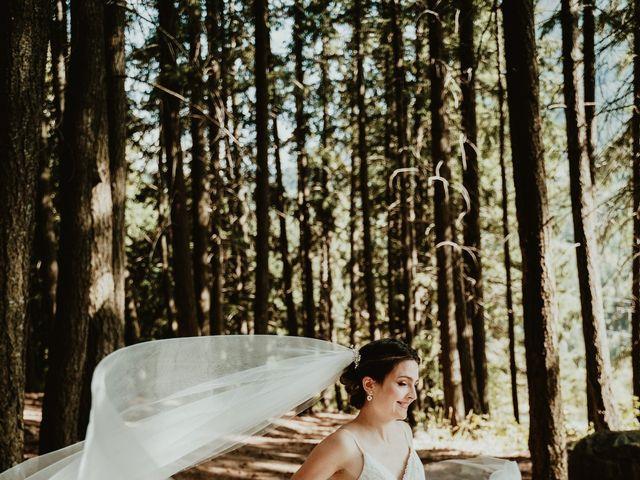 Bernic and Joyce's wedding in Lillooet, British Columbia 10
