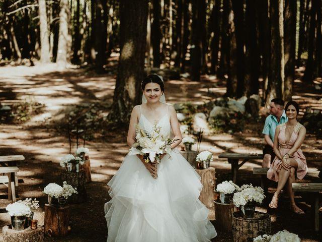 Bernic and Joyce's wedding in Lillooet, British Columbia 20