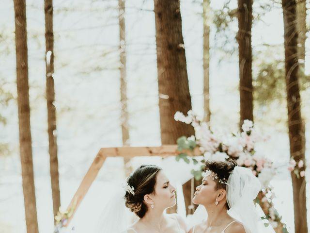 Bernic and Joyce's wedding in Lillooet, British Columbia 22