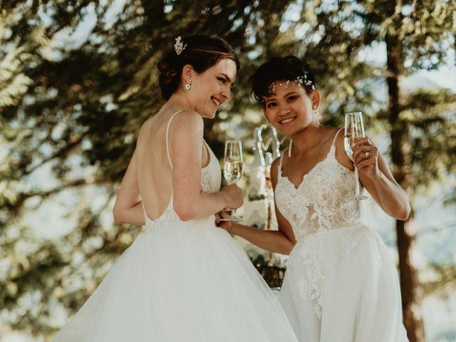 Bernic and Joyce's wedding in Lillooet, British Columbia 29