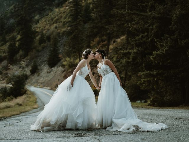 Bernic and Joyce's wedding in Lillooet, British Columbia 32