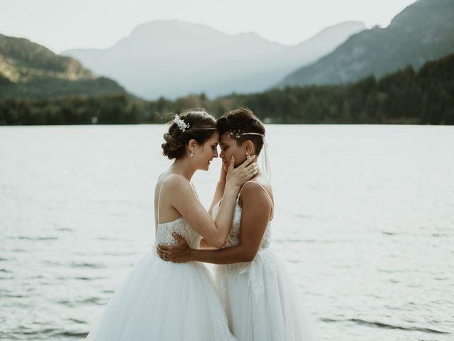Bernic and Joyce's wedding in Lillooet, British Columbia 36