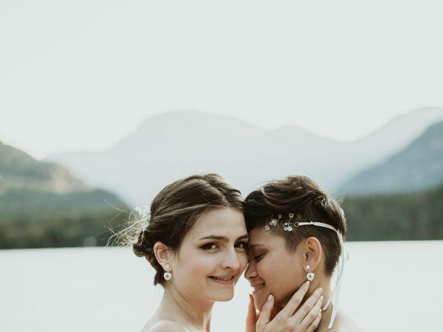 Bernic and Joyce's wedding in Lillooet, British Columbia 2