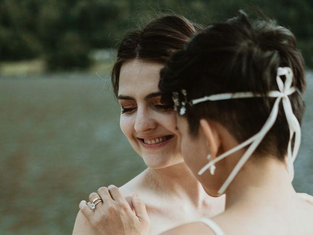Bernic and Joyce's wedding in Lillooet, British Columbia 37