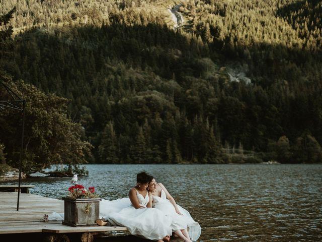 Bernic and Joyce's wedding in Lillooet, British Columbia 38