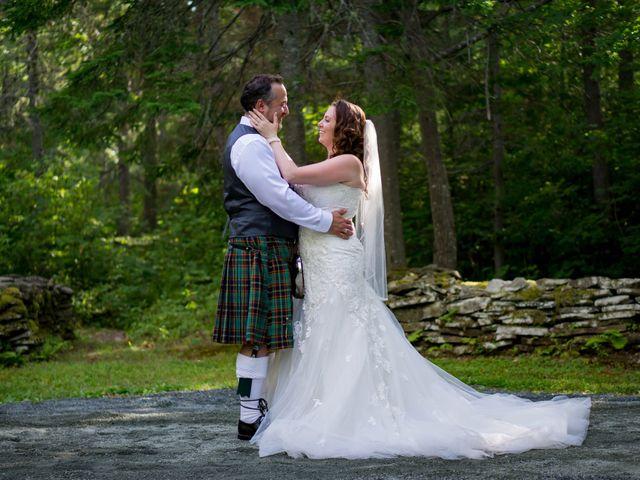 The wedding of Tara and Charles