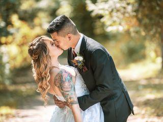 The wedding of William and Miranda