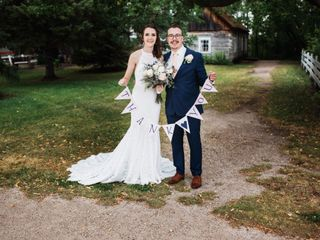 The wedding of Melissa and Jason