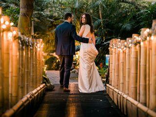 The wedding of Eva and Jonathan