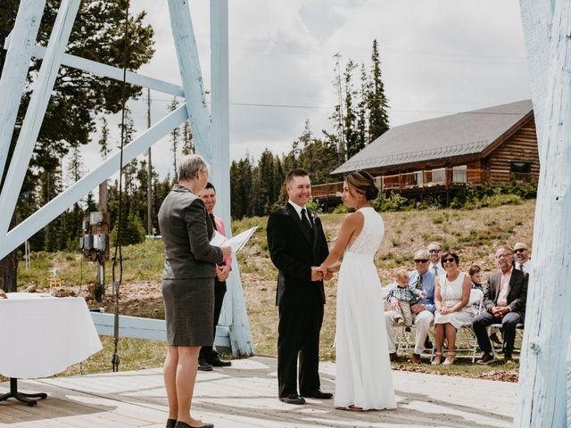 Tyson and Lindsey's wedding in Kimberley, British Columbia 3