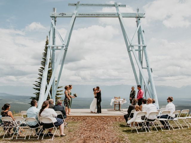 Tyson and Lindsey's wedding in Kimberley, British Columbia 4