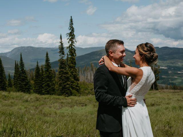 Tyson and Lindsey's wedding in Kimberley, British Columbia 6