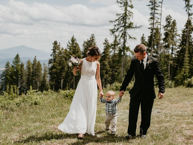 Tyson and Lindsey's wedding in Kimberley, British Columbia 7