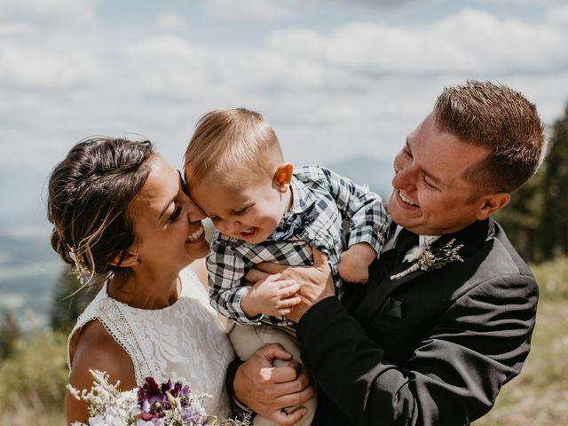 Tyson and Lindsey's wedding in Kimberley, British Columbia 8