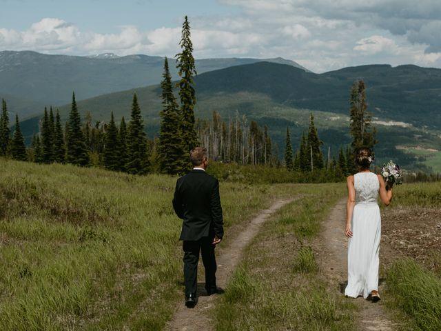 Tyson and Lindsey's wedding in Kimberley, British Columbia 10