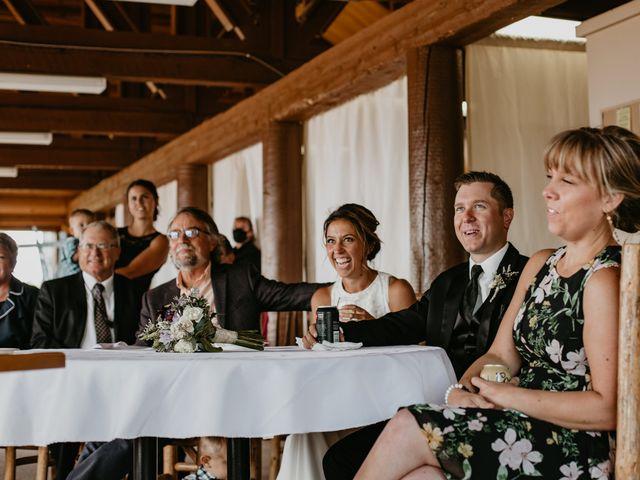 Tyson and Lindsey's wedding in Kimberley, British Columbia 11