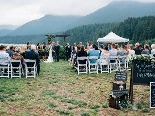 The wedding of Josh and Mehala 1