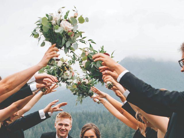 The wedding of Josh and Mehala