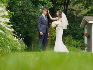 The wedding of Laura and Rayan