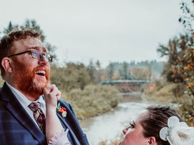 Jared and Melanie's wedding in Edmonton, Alberta 12
