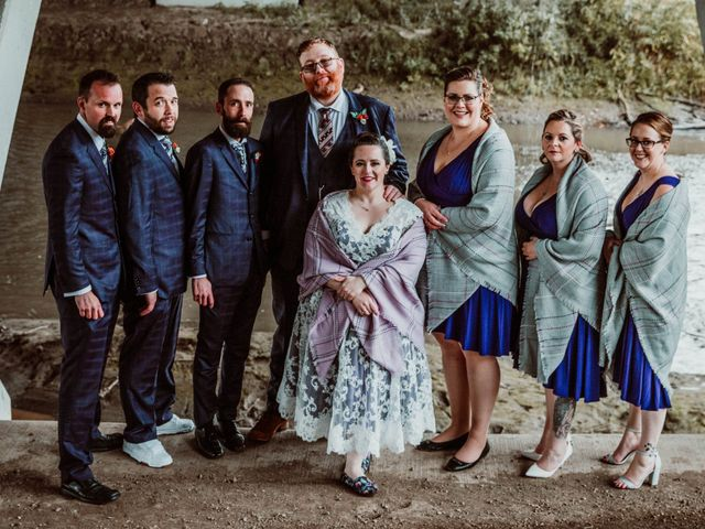 Jared and Melanie's wedding in Edmonton, Alberta 14