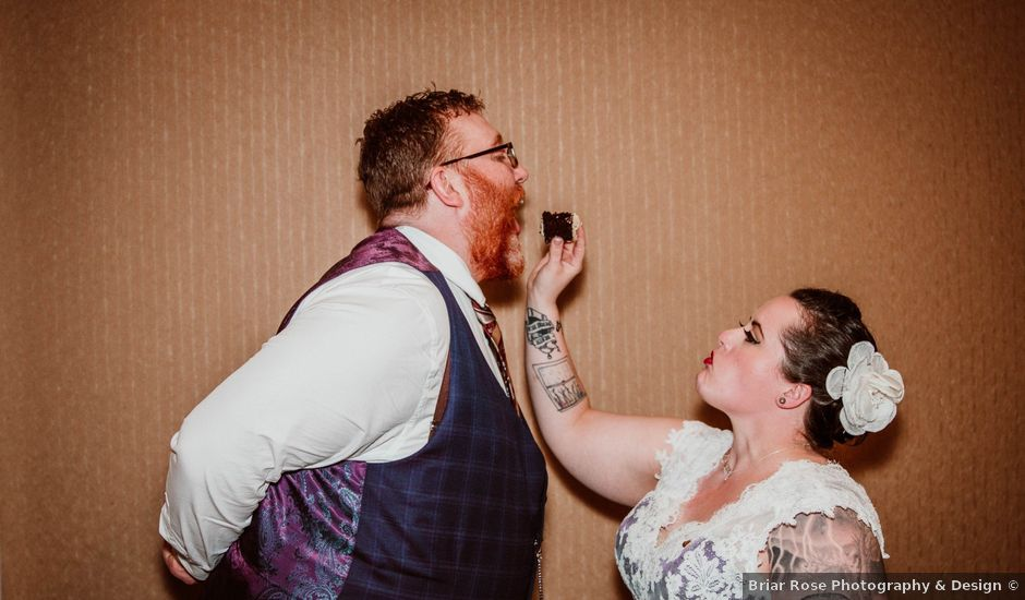 Jared and Melanie's wedding in Edmonton, Alberta
