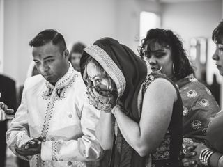 The wedding of Alana and V.J. 2