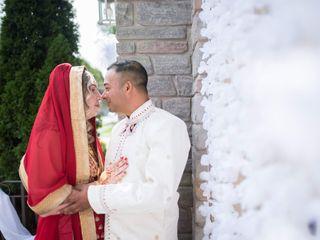 The wedding of Alana and V.J.