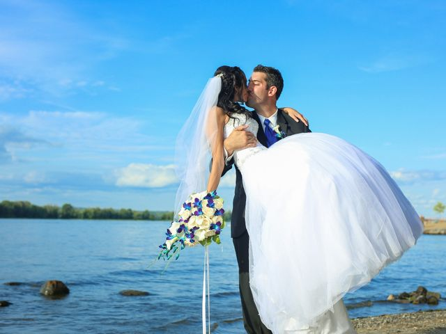 The wedding of Sonia and Chad
