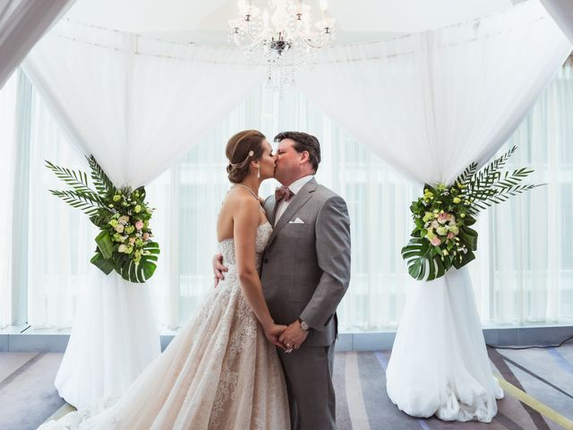 The wedding of Aria and Carmichael